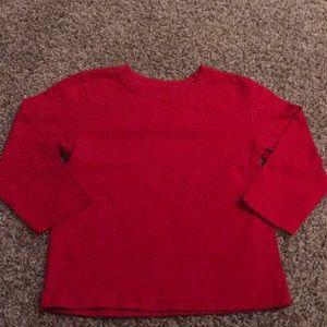Garanimals Red Long Sleeve Top
